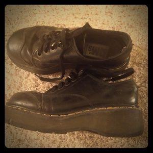 Black vintage Doc Martens